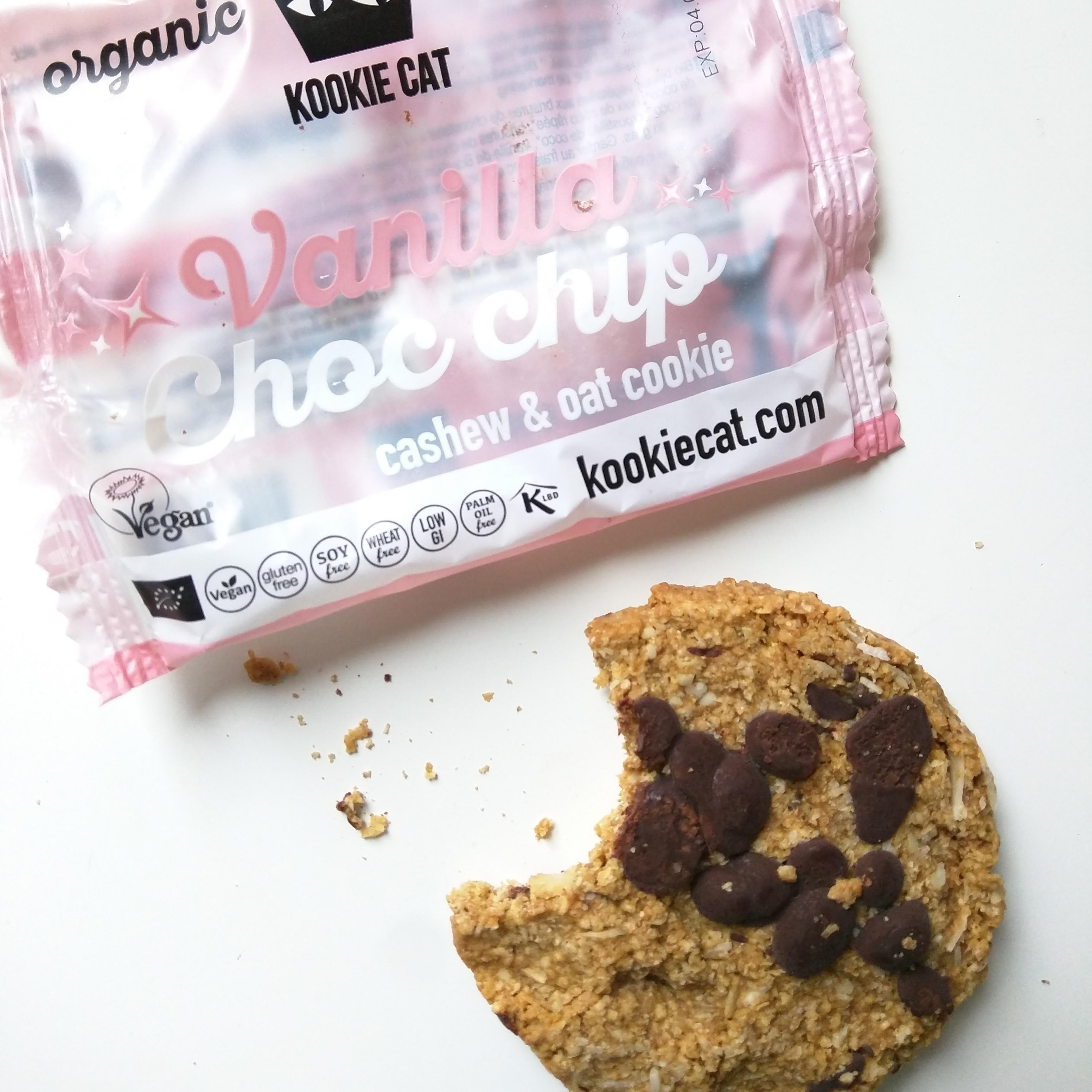 Glutenvrije en vegan Kookie Cat koeken