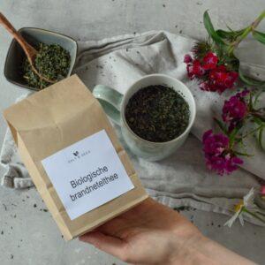 biologische brandnetel thee