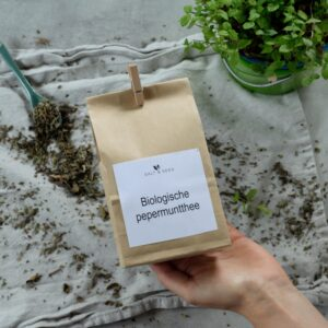 biologische pepermunt thee